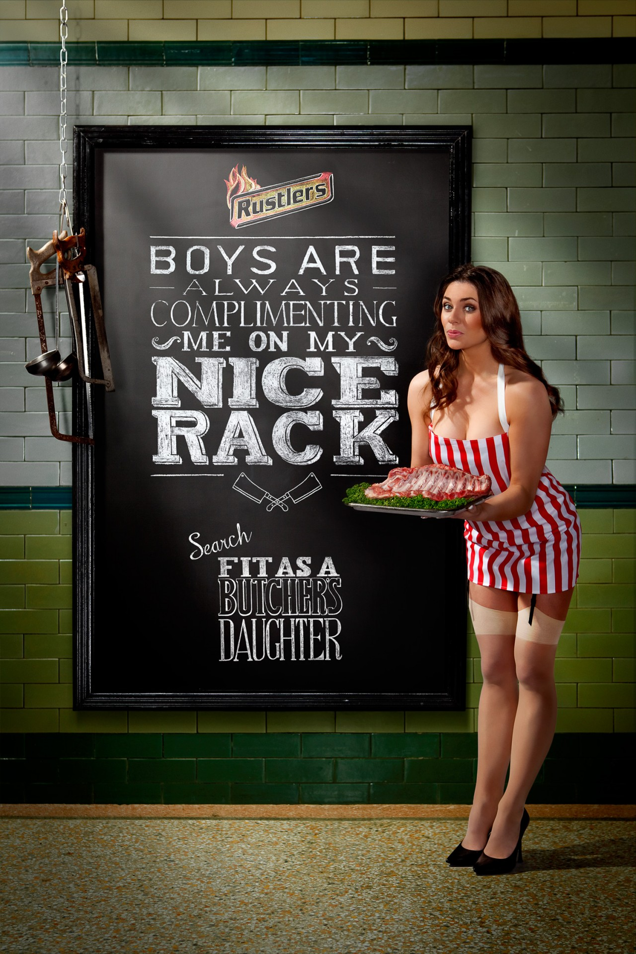 Rustlers unveils 'fit as a butcher's daughter' campaign ...