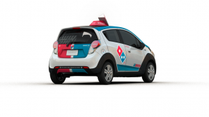 Domino S Unveils Its Customized Pizza Delivery Vehicles