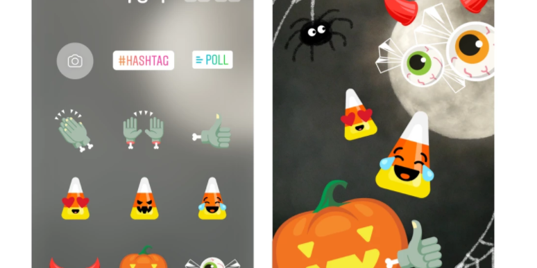 Instagram rolls out Halloween special features and stickers