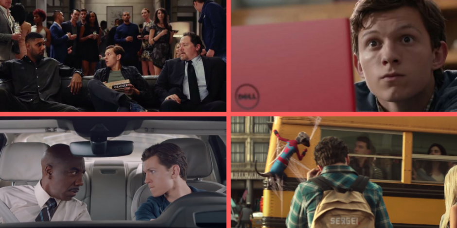 The Top 6 Spider Man Homecoming Ads Ft Dell Nba Audi Tim Smart Pizza Hut Amp Compare The
