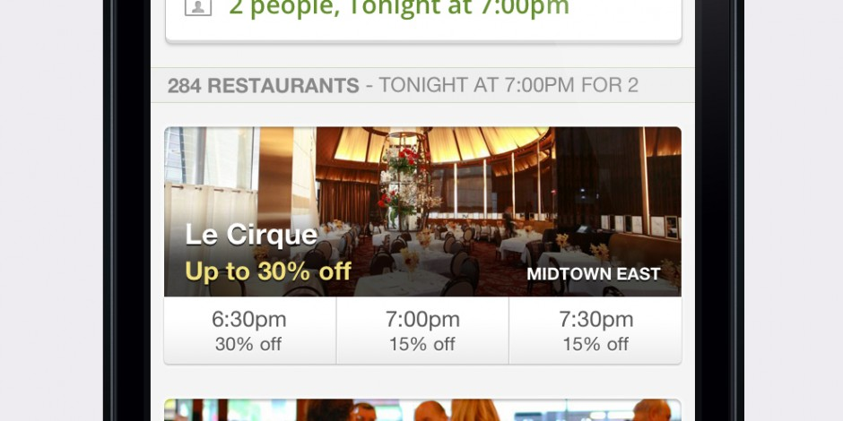 Groupon adds Reserve service to its mobile app | The Drum
