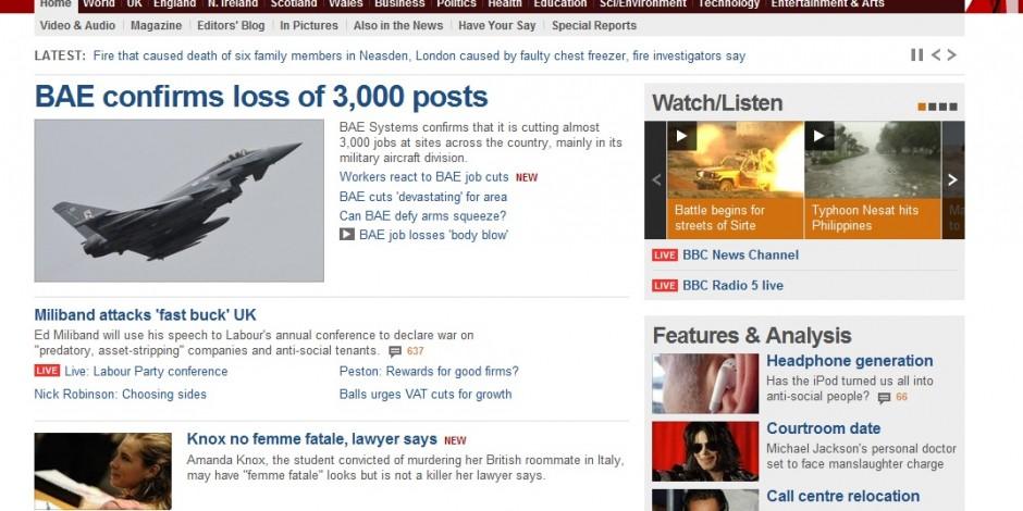 Bbc news headlines online dating