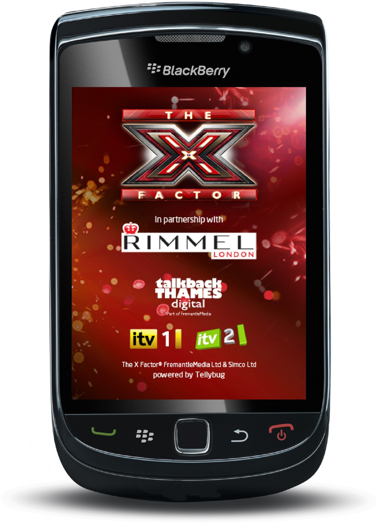 BlackBerry app for The X Factor created by Apadmi | The Drum