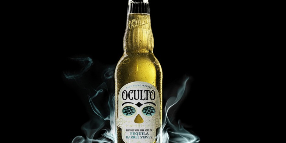 Tequila Beer With A Skull And A Secret Message But No Tequila Is Set For Us The Drum