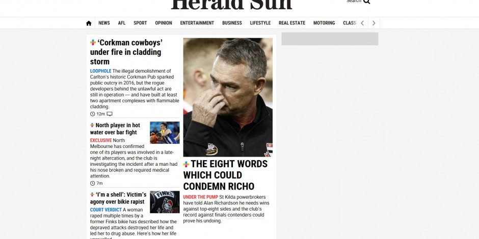 News Corp tabloid offers journalists clicks, page views and subscriptions bonuses