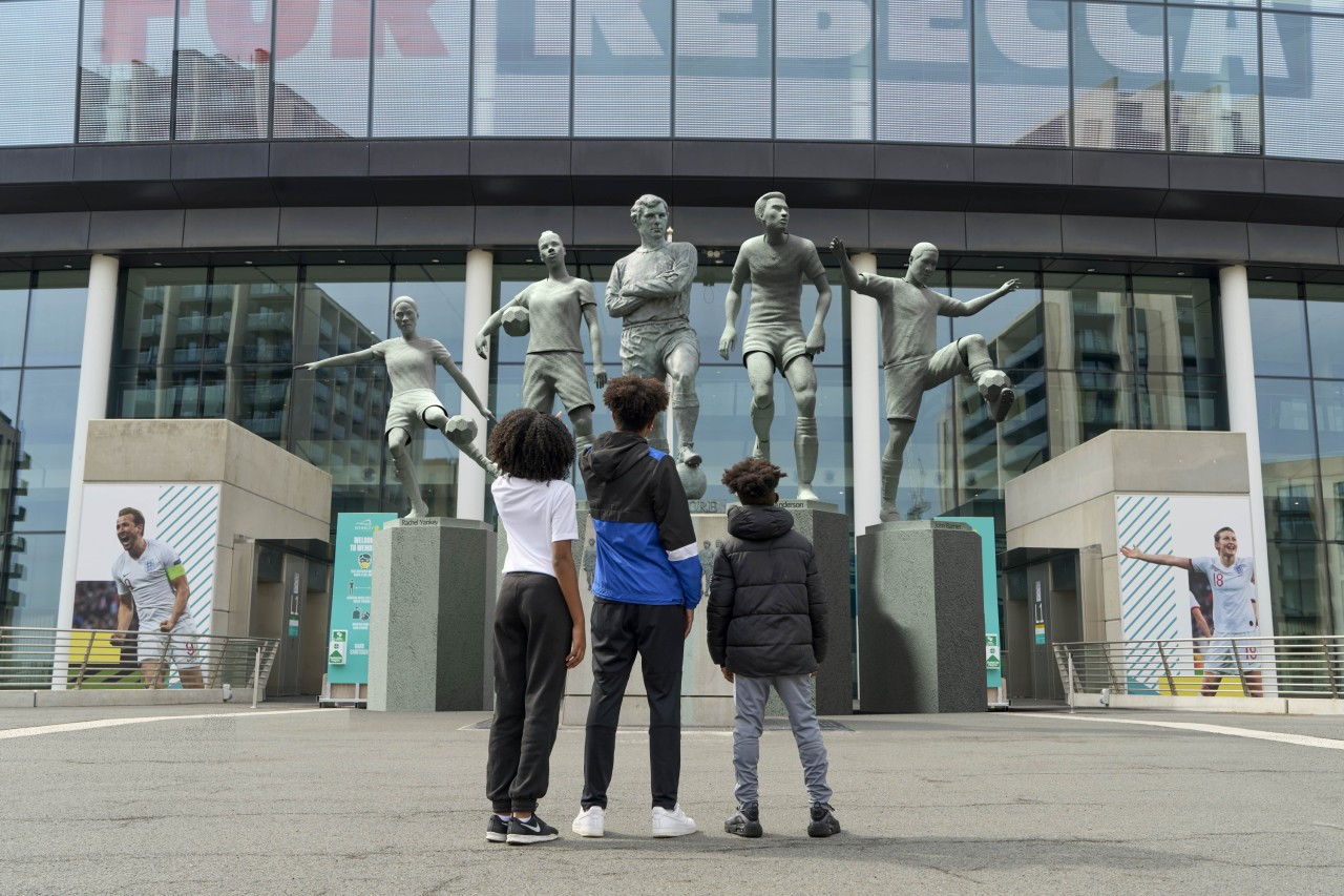 Snapchat honors Black footballers with AR statues