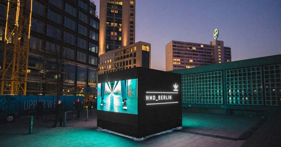 Adidas Originals Campaign Connects Europe Through Interactive Cubes The Drum