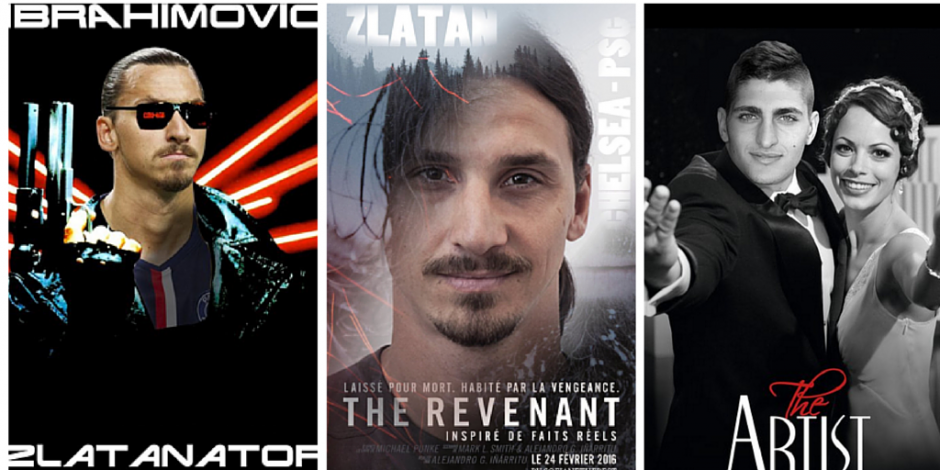 Psg Psychs Fans With Spoof Movie Poster Tweets Starring Zlatan And