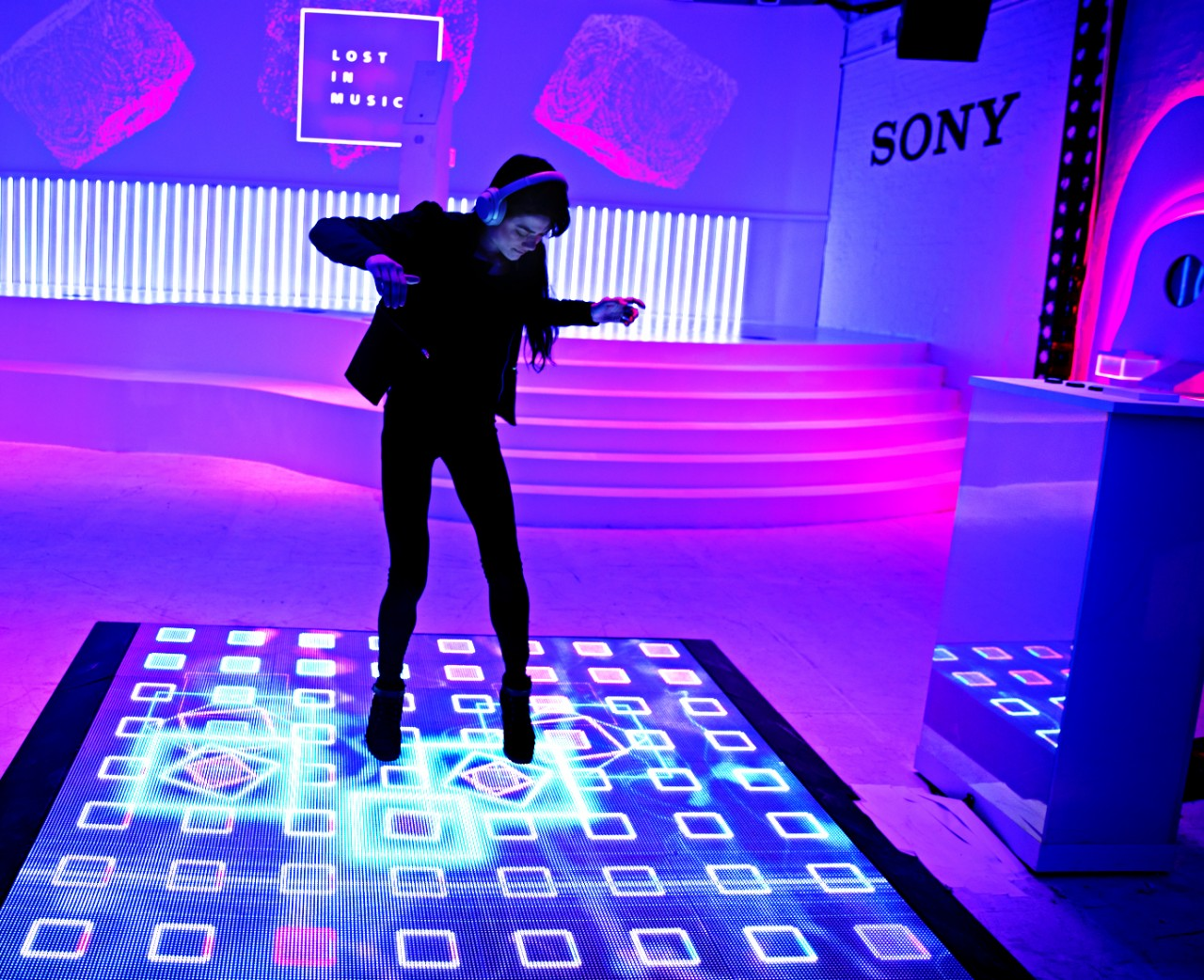 How Sony is uniting its brand by fusing tech with music in immersive experiences