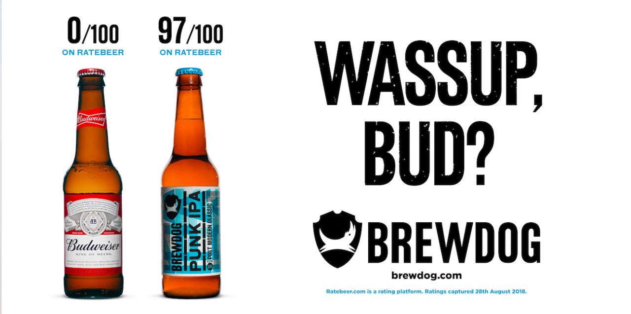 Brewdog Trolls Beer Rivals Advertising Slogans In Latest Takedown The Drum