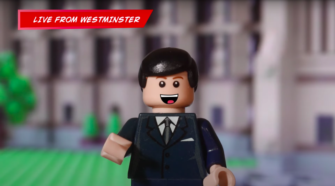 Ads We Like: Lego's version of Westminster sets off the peppy PSA we've been craving