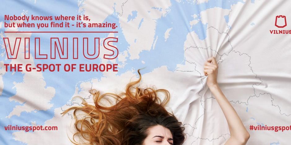 Vilniuss Latest Campaign Compares The City To A G Spot