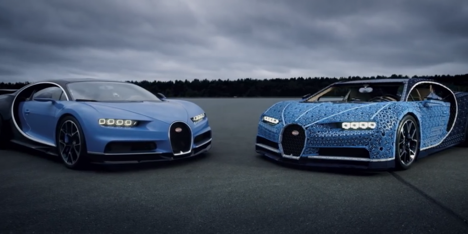 YouTube Re:View - Lego builds life size Technic Bugatti   The Drum