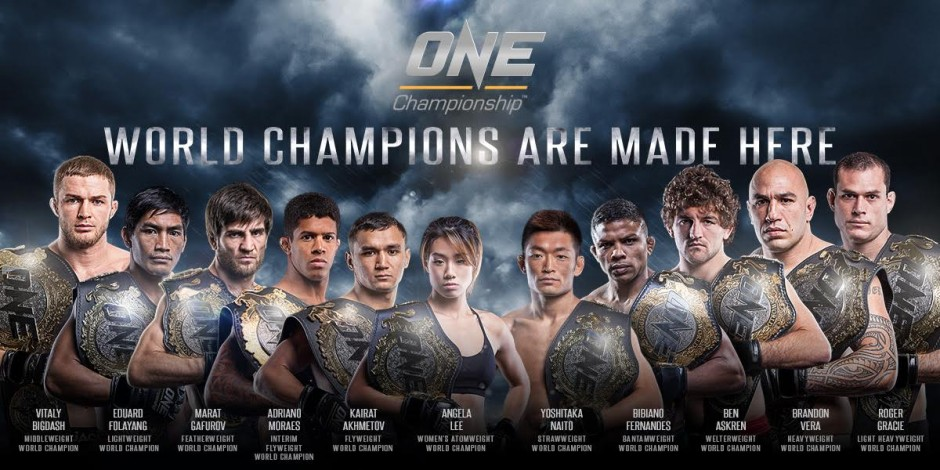 ONE Championship And UFC Battle It Out To Be Top Global