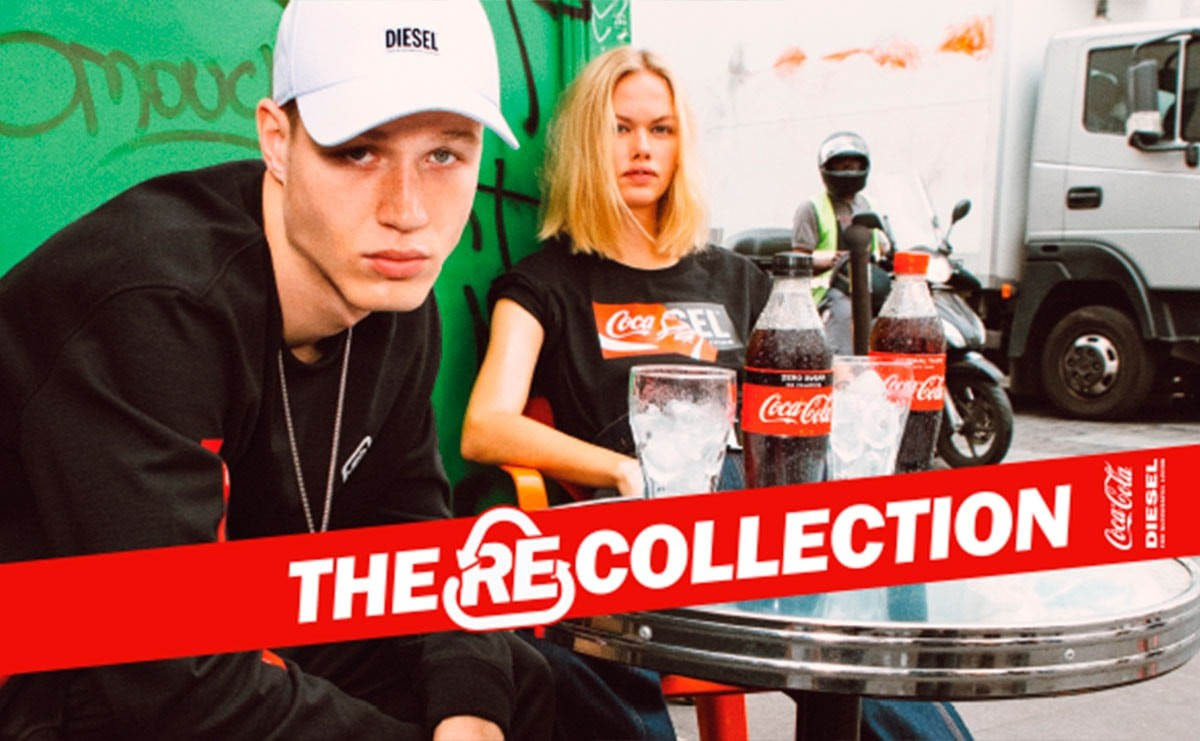 Diesel and Coca-Cola raise awareness around recycling with clothing range