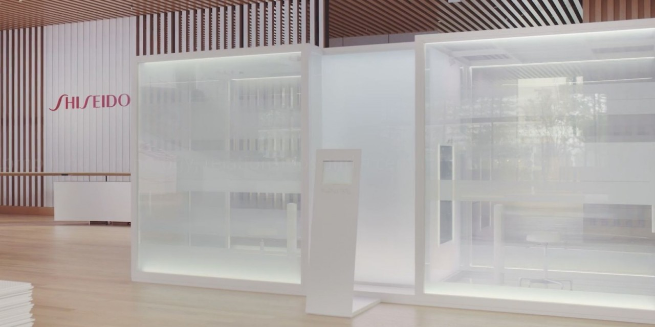 Shiseido creates time travel installation to showcase real-time aging