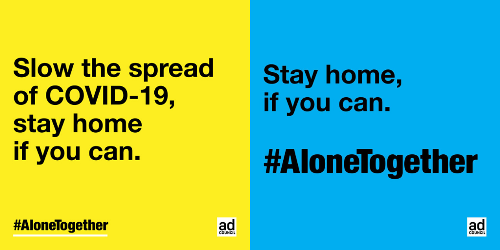 The Ad Council and Google push '#StayHome. Save lives' industry-wide movement
