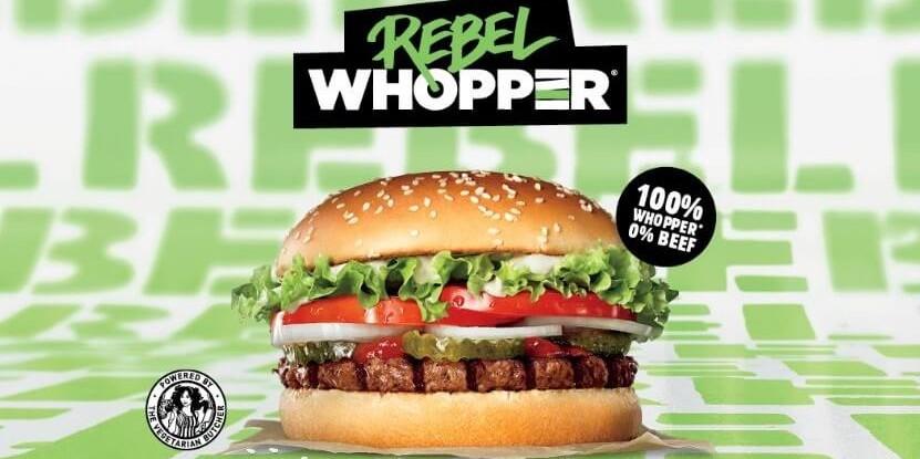 Anuncio de la Rebel Whopper
