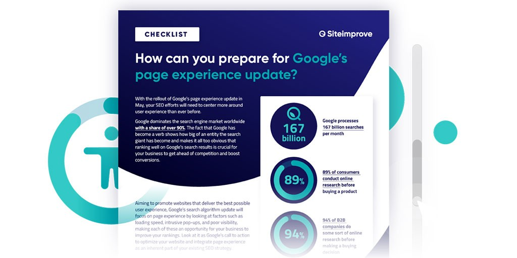 How can you prepare for Google's page experience update?