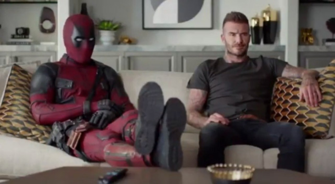 Deadpool apologises for mocking David Beckham's voice but gets more than he bargained for