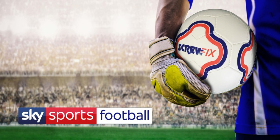 Sky Sports nails down Screwfix as first official football