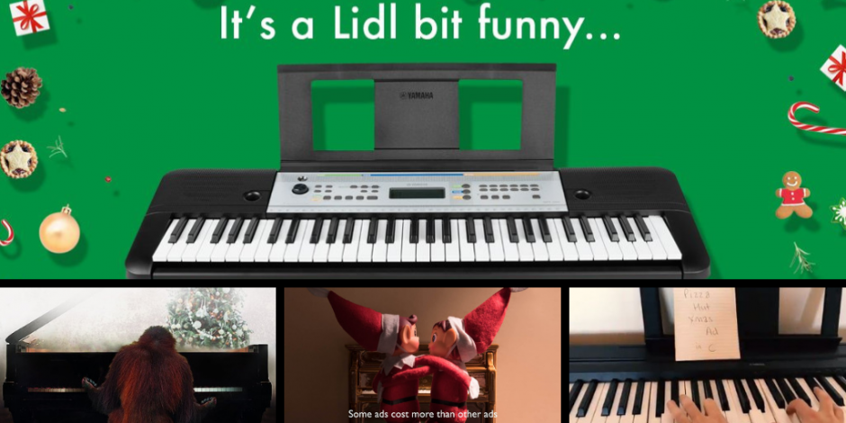 Lidl bit funny  brands parody the John Lewis Christmas ad  c0c0aed607