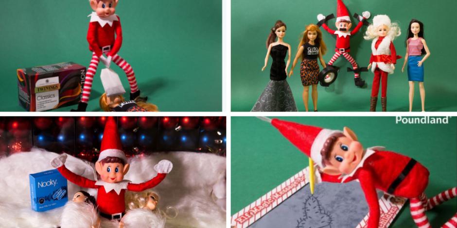 The 2018 Poundland social ,media Christmas campaign