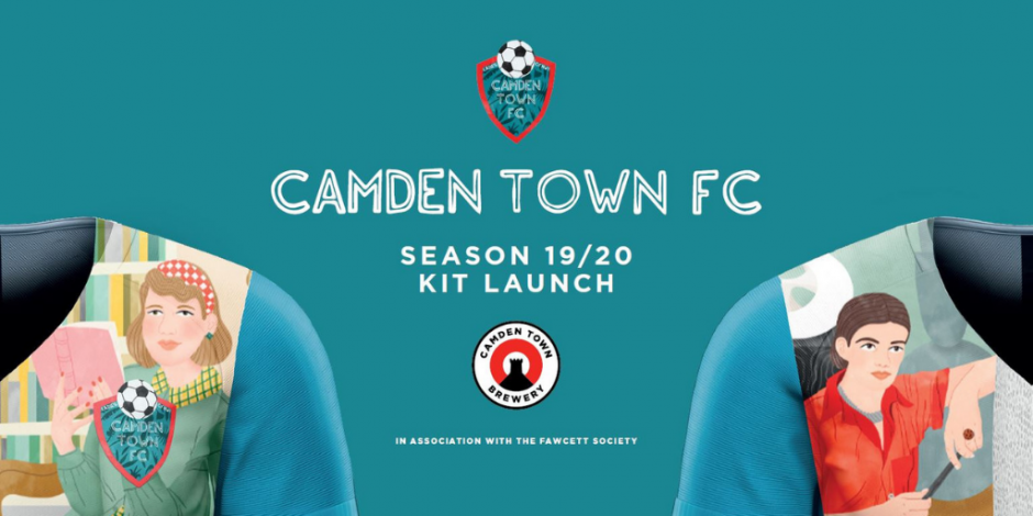 4ae46b546 Camden Town Brewery designs inspiring women football strip for local ...