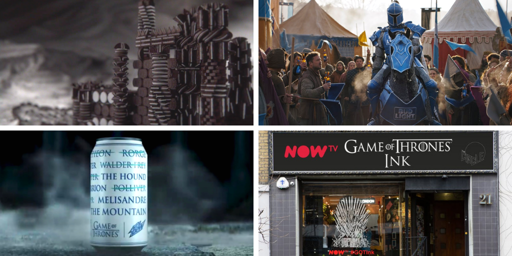 Game of Thrones final season: HBO brand partners get creative