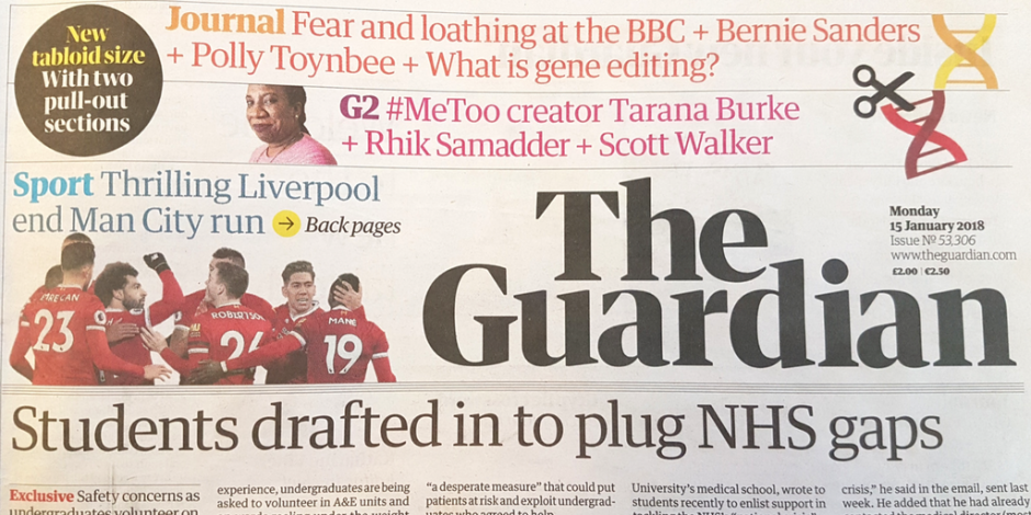 is the guardian newspaper a reliable source