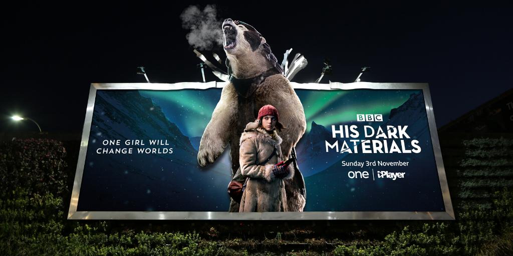 His Dark Materials unveils breathing billboard