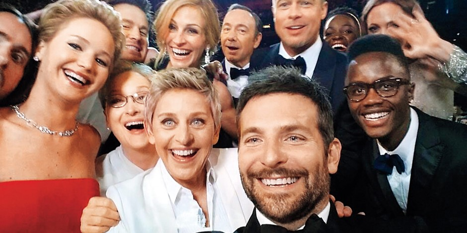 Image result for famous ellen selfie