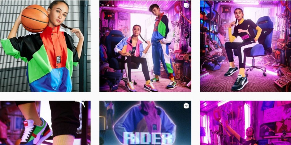 Vientre taiko Moda lino  Puma introduces a virtual influencer in South East Asia called Maya | The  Drum
